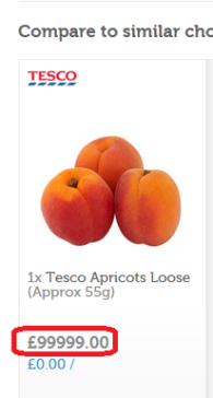 Most Expensive Apricots
