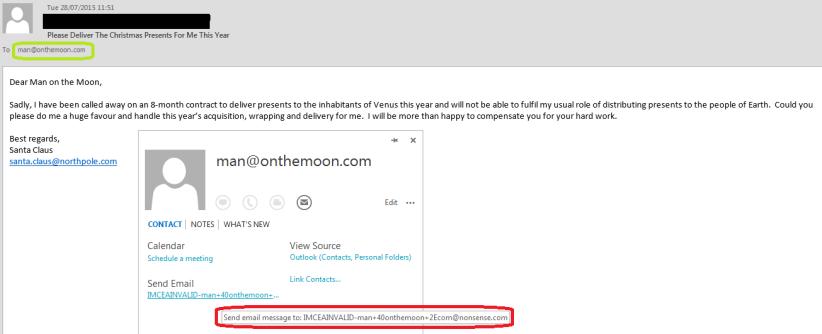 Fake Email - Revealed